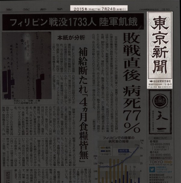 東京新聞milestone